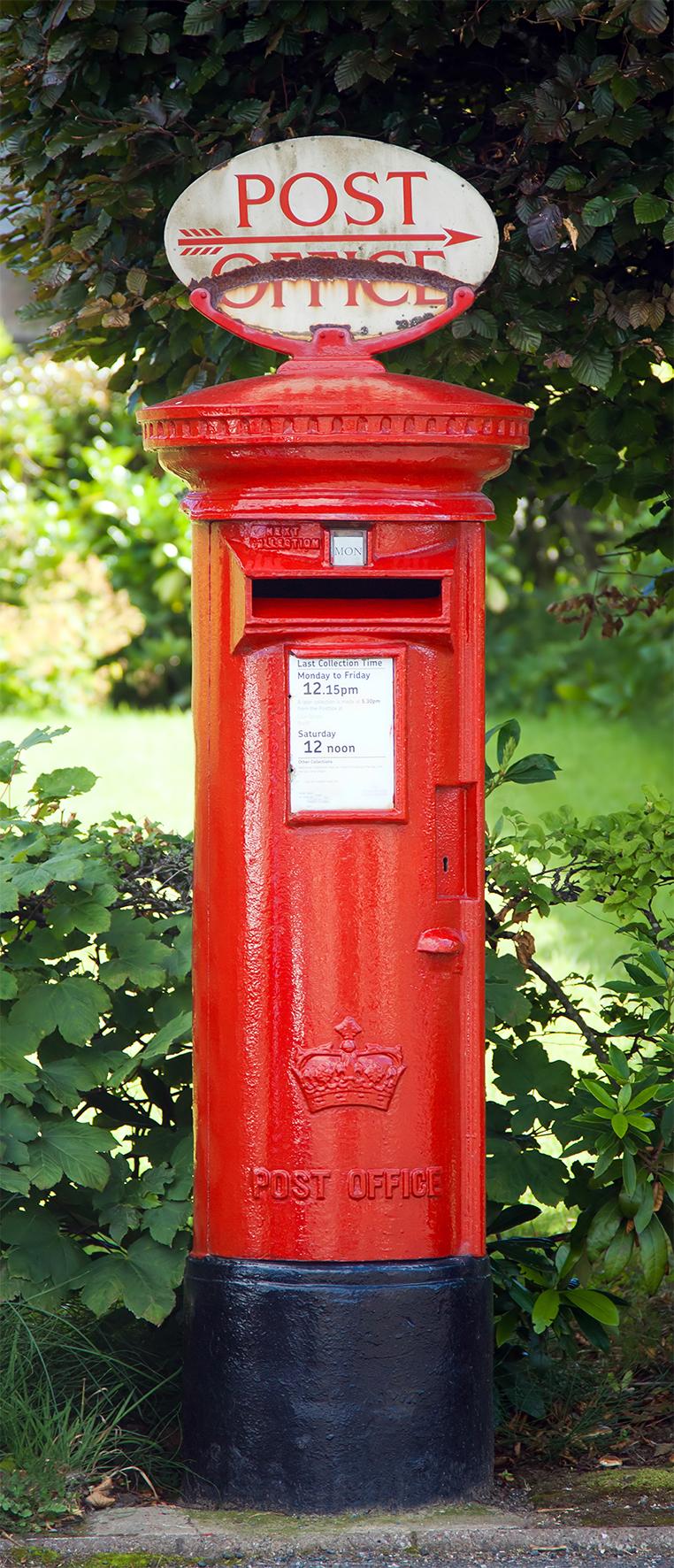 Details Zu Fototapete Red Postbox 86x200cm Roter Englischer Postkasten Briefkasten Britisch