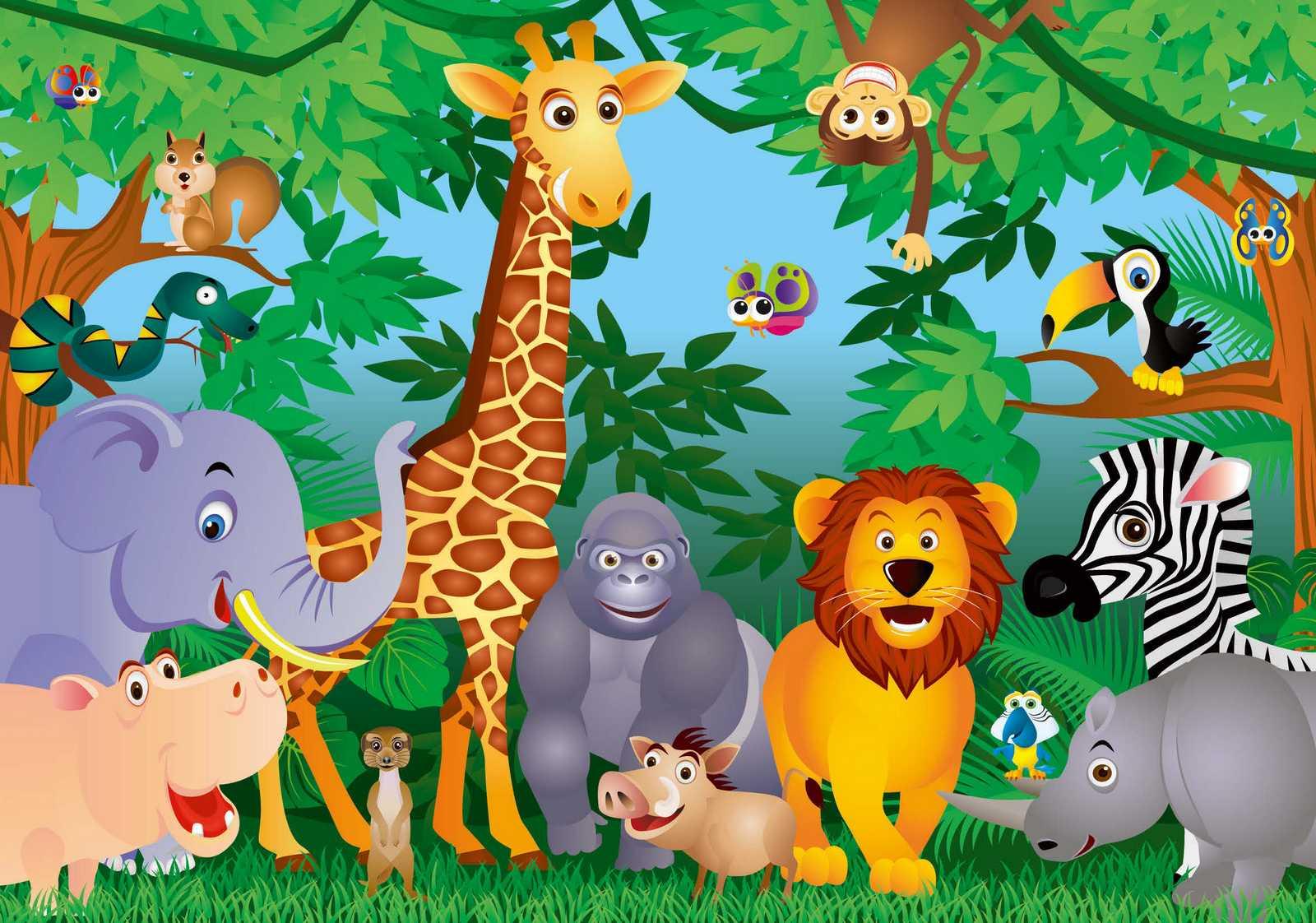 kinderzimmer wandbild zoo ~ noveric for .