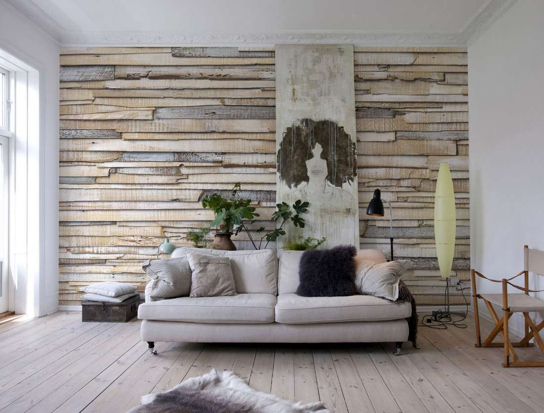 fototapete whitewashed wood 368x254 helle bretterwand. Black Bedroom Furniture Sets. Home Design Ideas