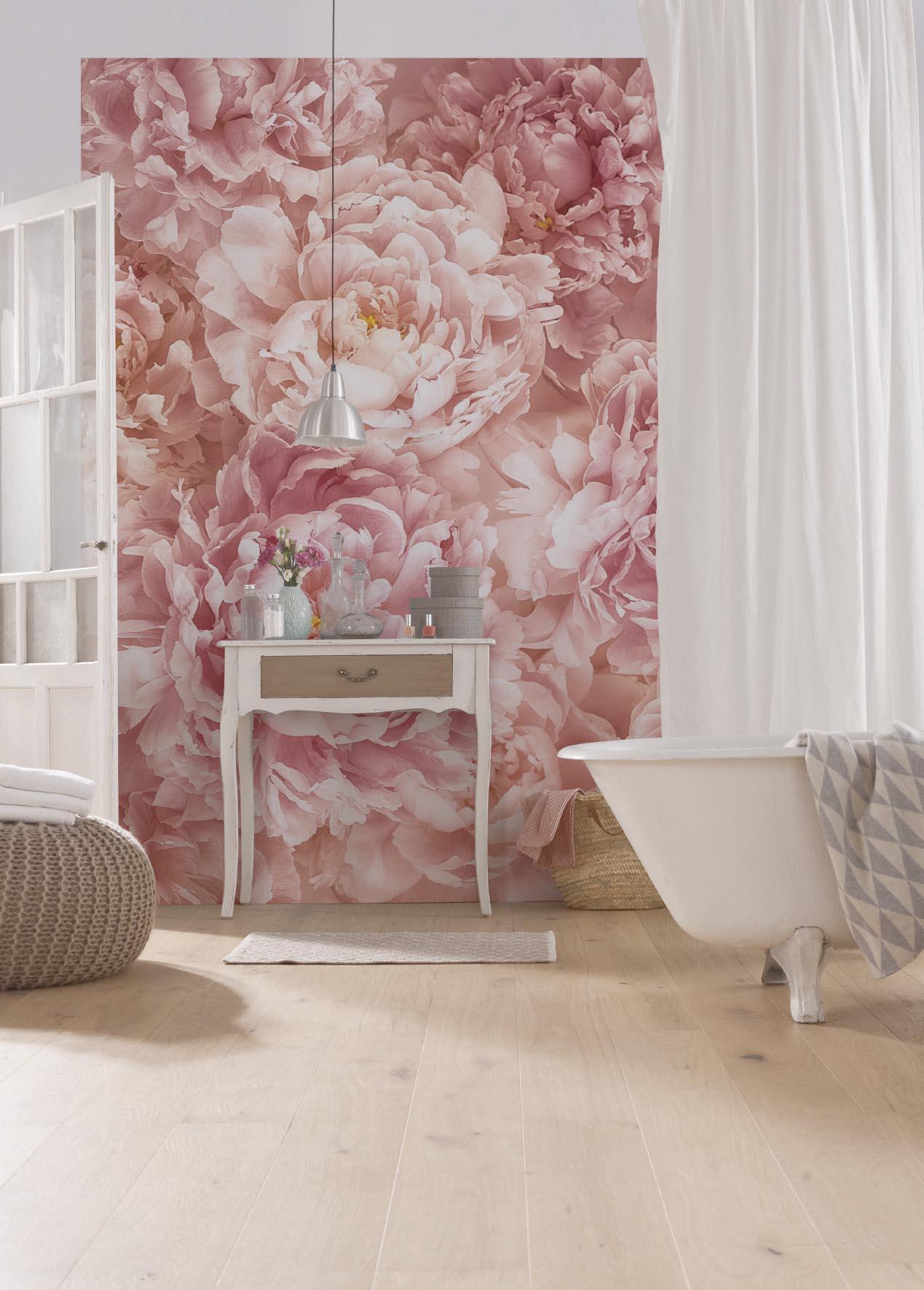 vliestapete fototapete soave 184x248 rosa blumen nelken. Black Bedroom Furniture Sets. Home Design Ideas