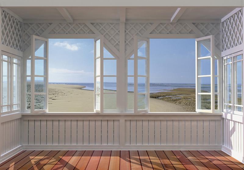 Fototapete blick aufs meer  Fototapete California Beach - Blick aufs Meer, KiSS! GmbH ...
